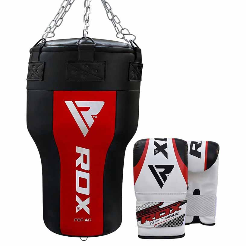 Rdx Sports Gants Combat Punch Bag Angle Red New One Size Red