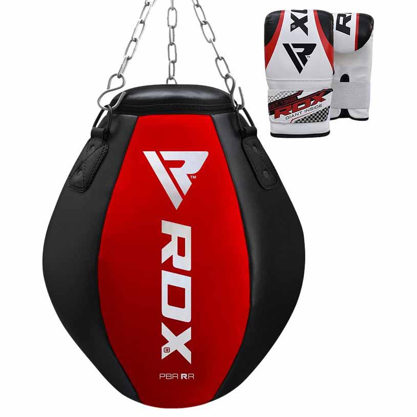 Rdx Sports Punch Bag Wrecking Ball Red/black One Size Red / Black