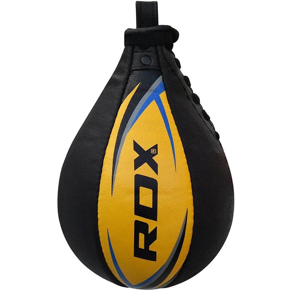Rdx Sports Speed Ball Leather Multi One Size Yellow / Blue