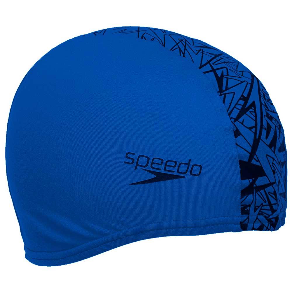 Speedo-Boom-End-Plus-Neon-Blue-Black-Gorros- 9a1a38f677d