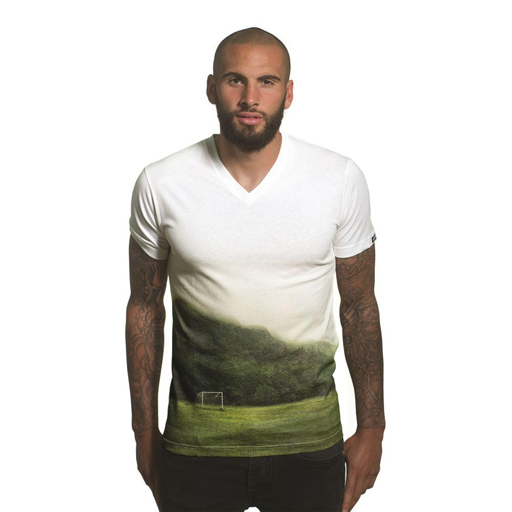 Copa All Over Pitch V Neck M White