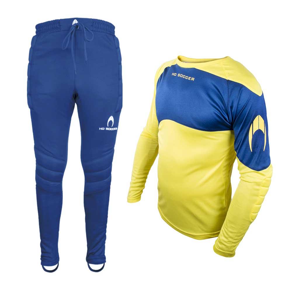 Ho Soccer Keeper Set Premier 6 Years Lime / Dark Blue