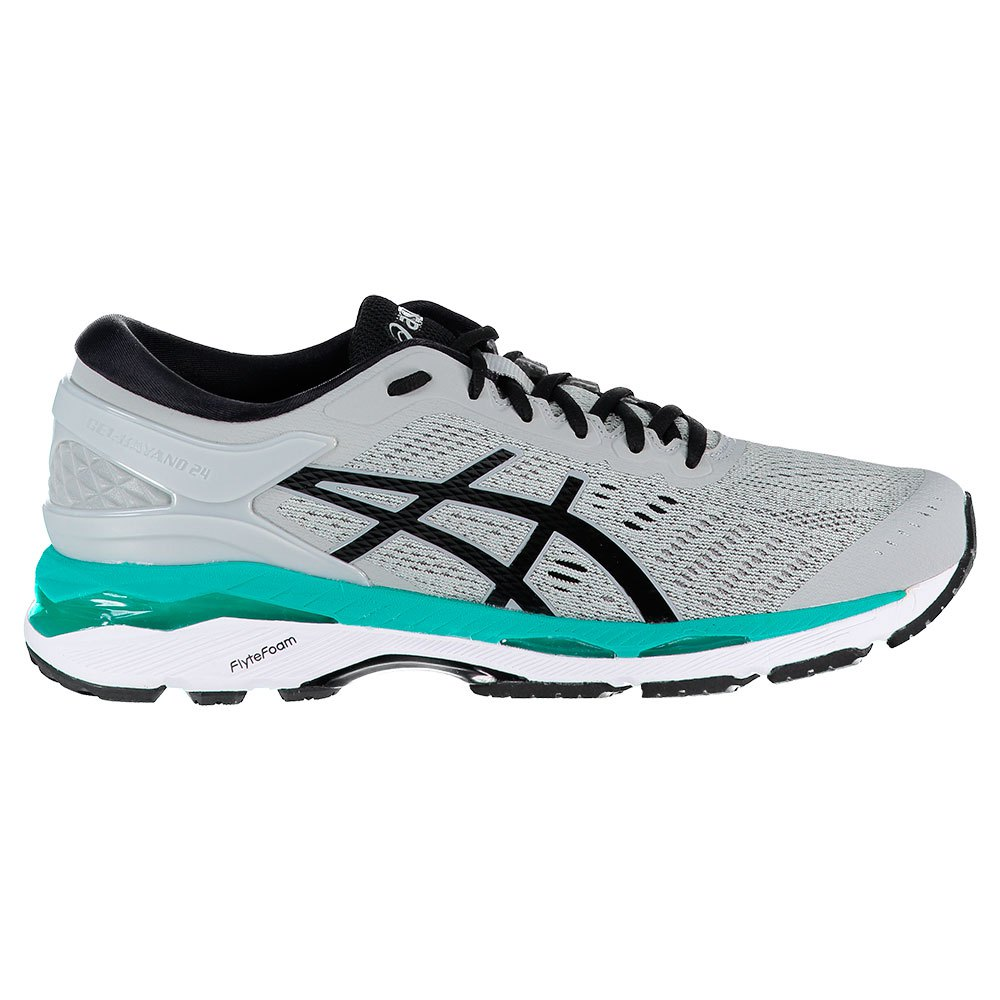 Asics Gel Kayano 24 EU 39 Mid Grey / Black / Atlantis