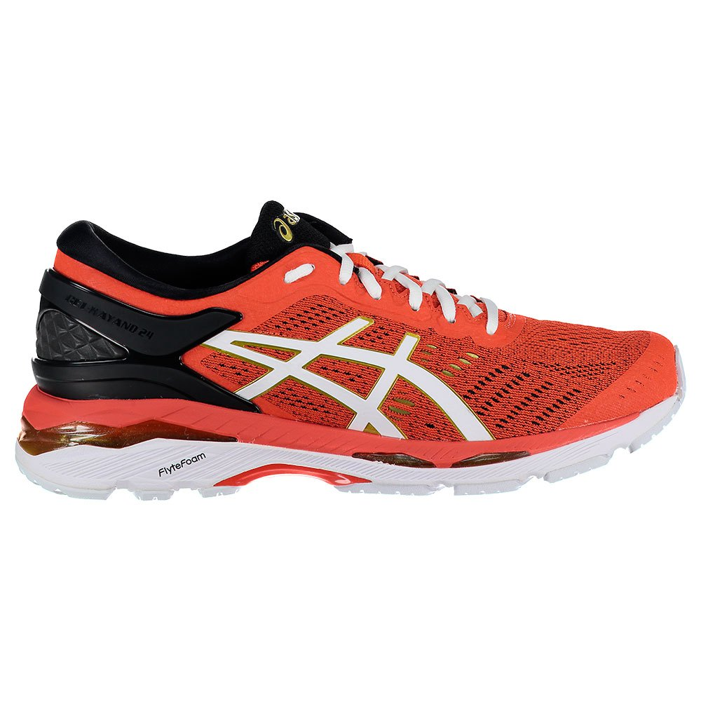 Asics Gel Kayano 24 EU 42 Redcaly / White / Rich Gold