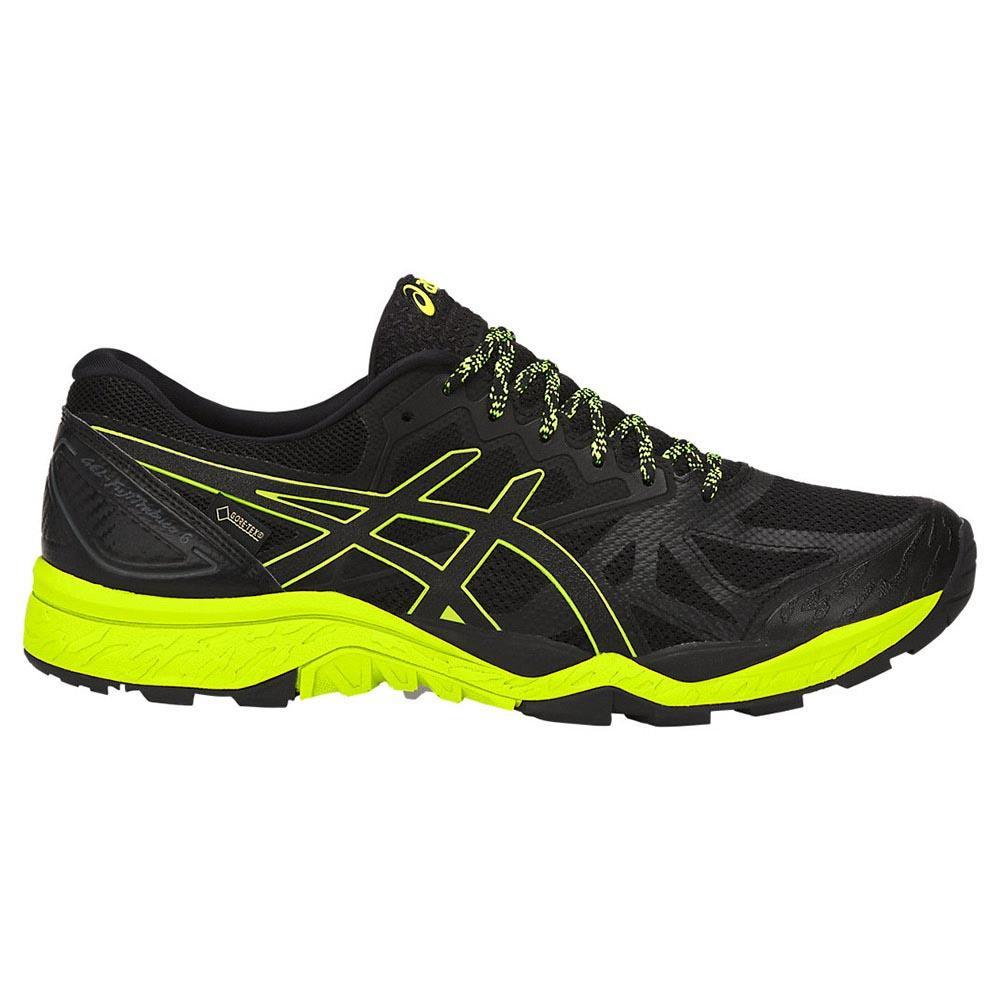 Asics Zapatillas Trail Running Gel Fujitrabuco 6 Goretex Black / Safety Yellow / Black