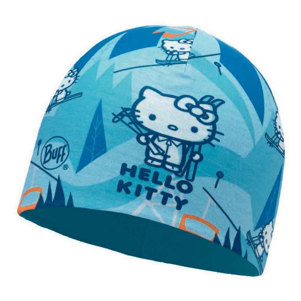 Buff ® Hello Kitty Micro & Polar Child One Size Ski Day Turquoise / Blue Cap