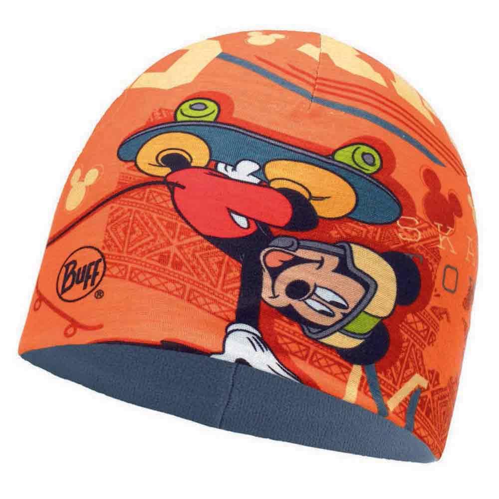 Buff ® Bonnet Microfiber&polar Licenses Enfant One Size Skate King Orange / Flint