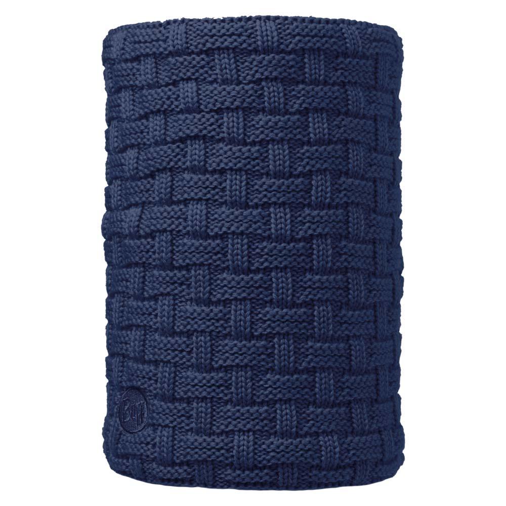 Buff ® Neckwarmer Knitted And Polar Fleece One Size Airon Dark Denim