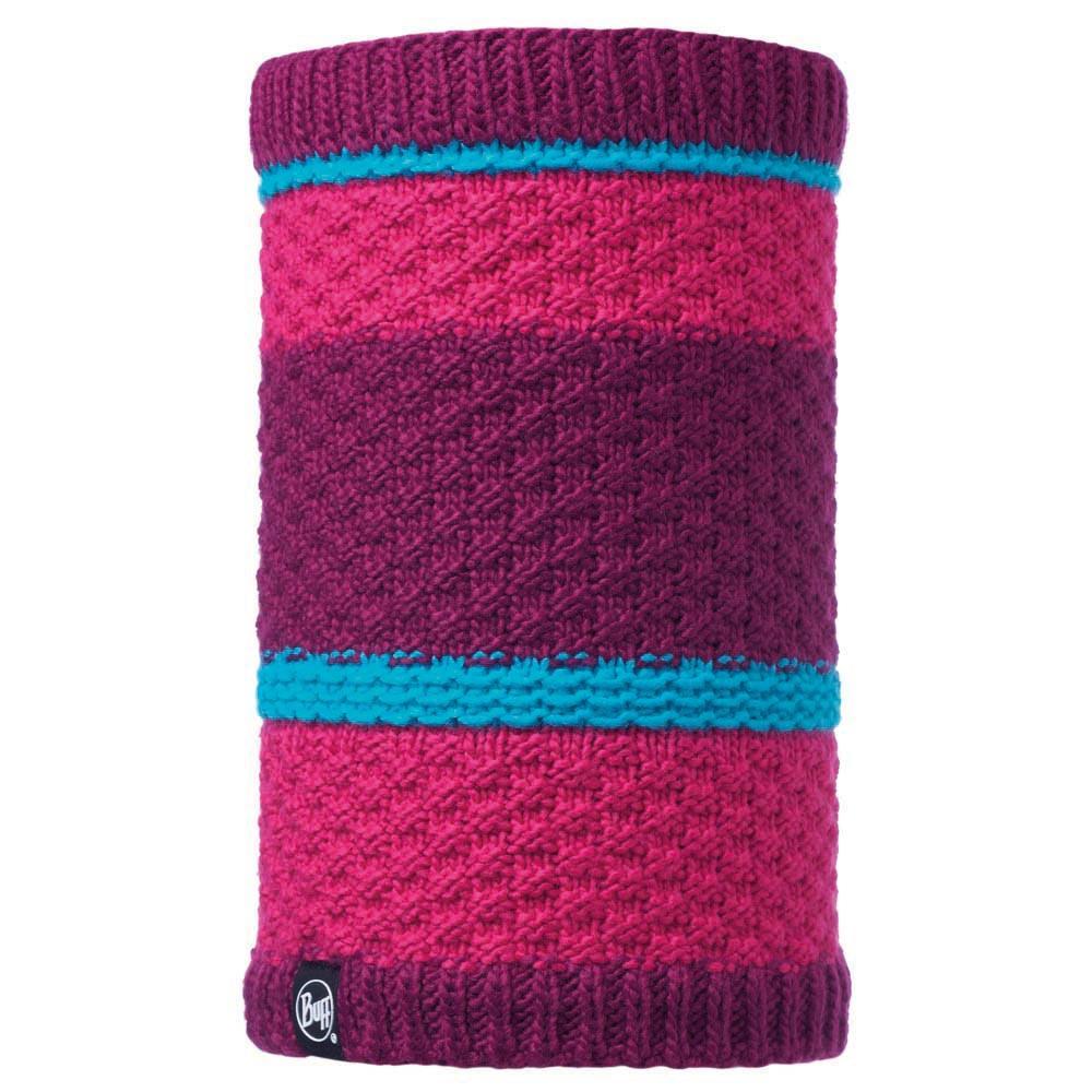 buff-neckwarmer-knitted-and-polar-fleece-one-size-fizz-pink-honeysuckle