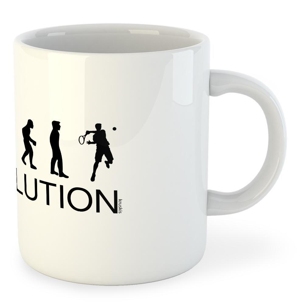 Kruskis Mug Evolution Smash 325ml 325 ml (11 oz) White
