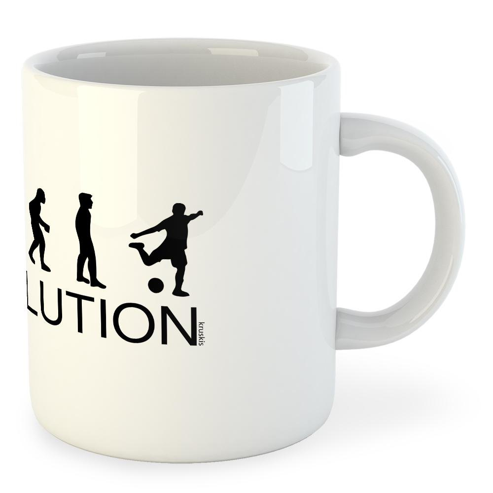 Kruskis Mug Evolution Goal 325 ml (11 oz) White