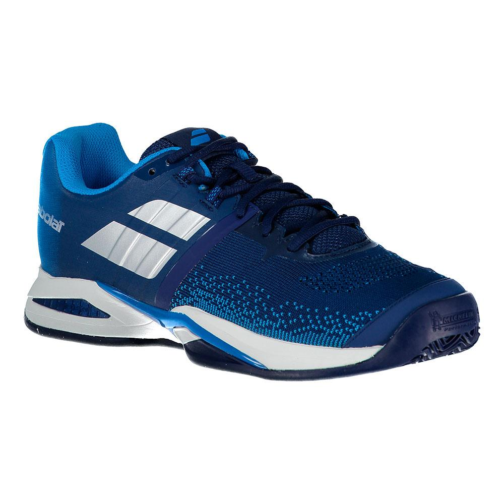Babolat Propulse Blast Clay Blue Estate Blue / Diva Blue Clay , Baskets Babolat , tennis 94f276
