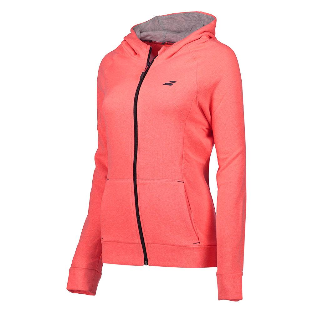 Babolat Core Hood Sweat XL Fluo Strike Heather