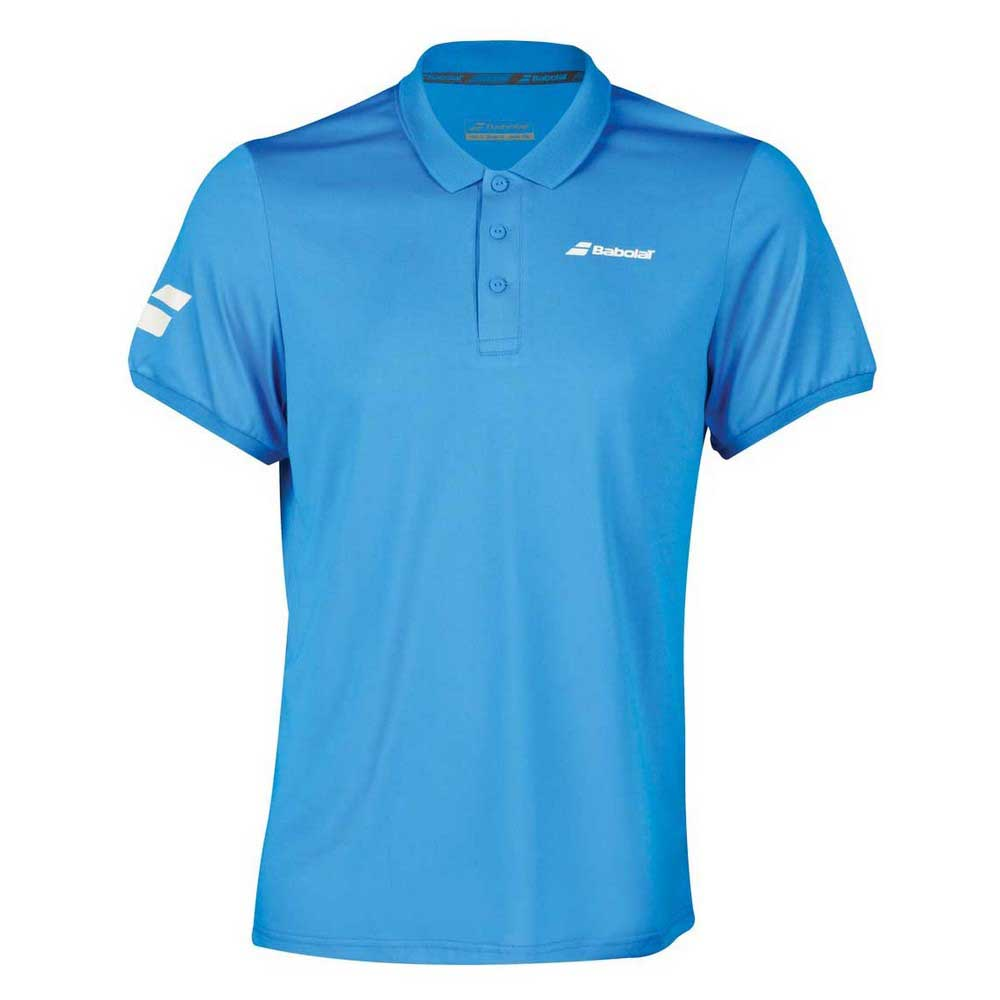 Babolat Core Club Polo 6-8 Years Diva Blue