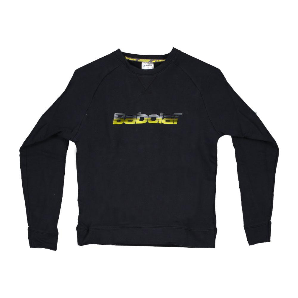 Babolat Core Sweatshirt 6-8 Years Black / Black