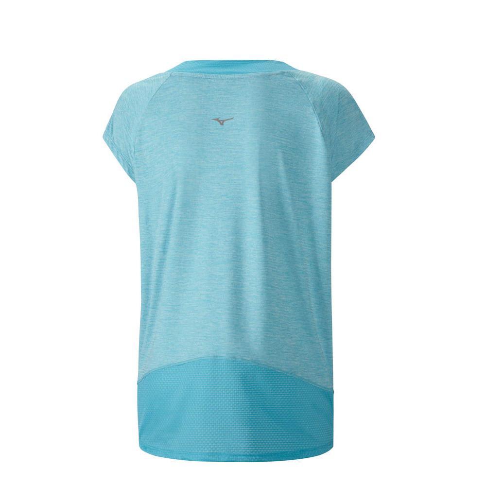 Fitness Blu Magliette Mizuno Abbigliamento Blue Atoll Lyra Donna 0nqxwn4BIR