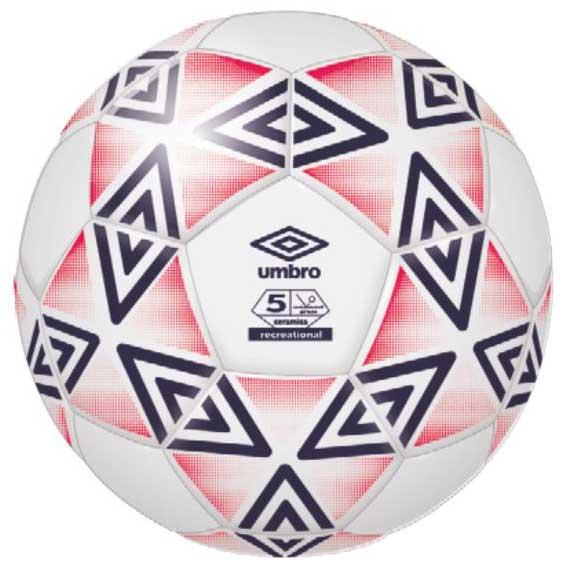 Umbro Ballon Football Ceramica Club 5 White / Eclipse / Lava Pink