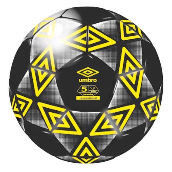 Umbro Ballon Football Ceramica Club 5 Black / Golden Kiwi / White