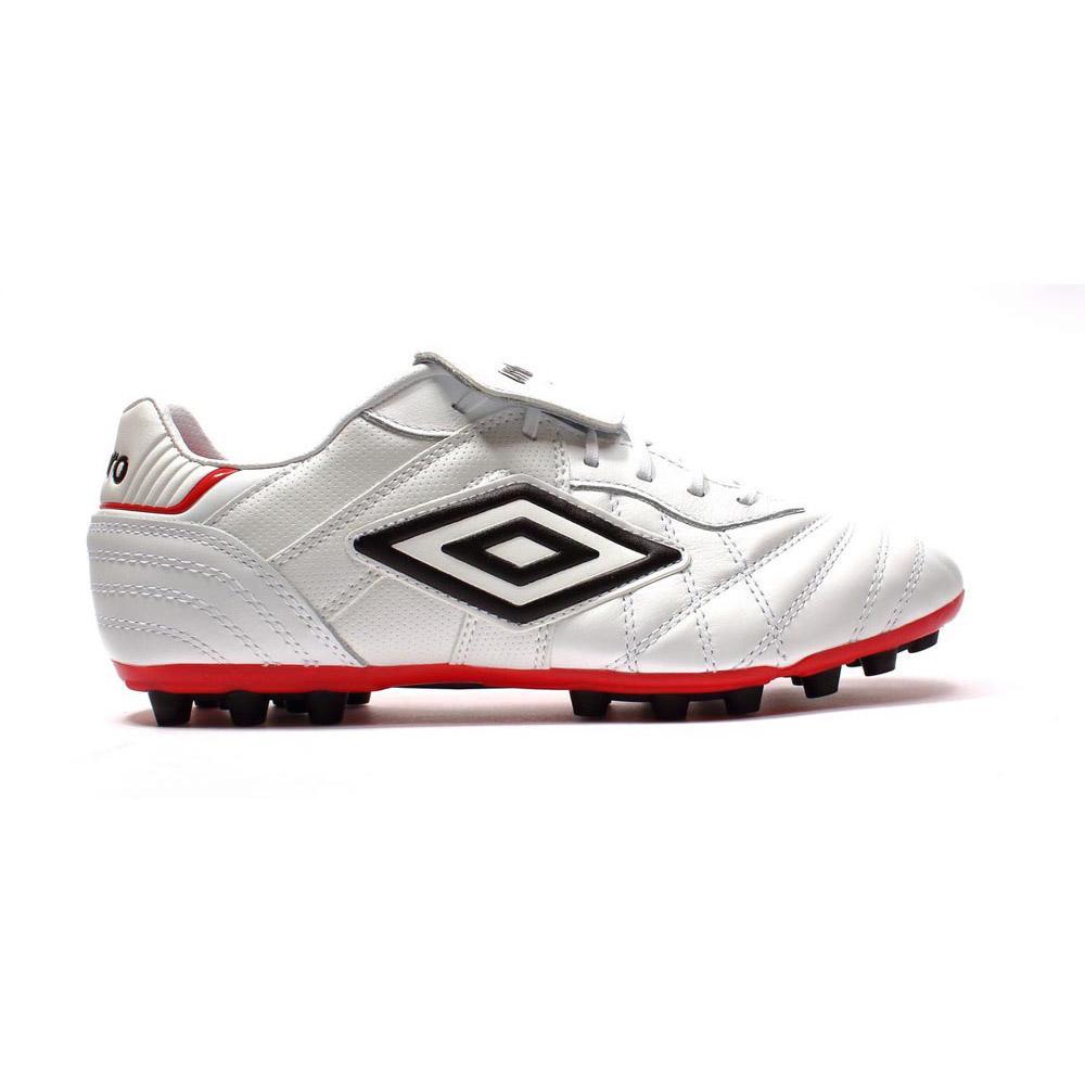 Umbro Chaussures Football Speciali Eternal Team Ag EU 40 1/2 White / Black / Vermillion
