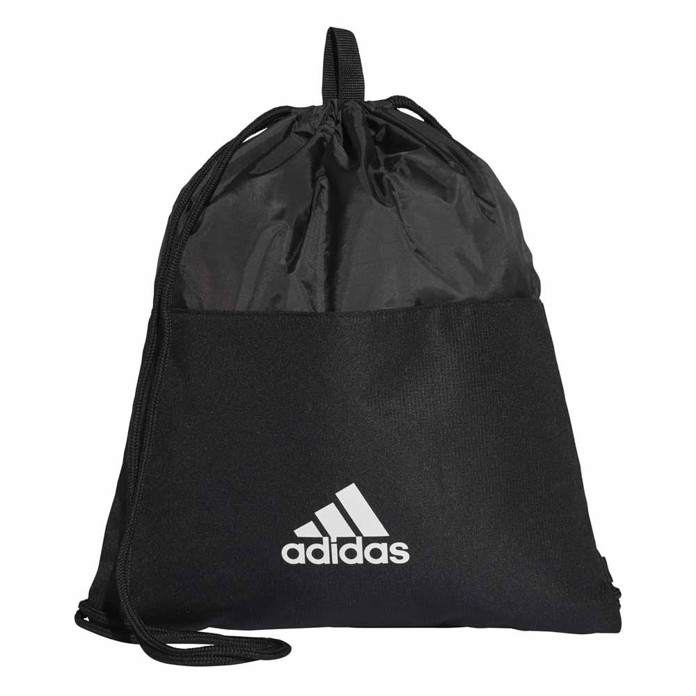 Adidas 3 Stripes Gymbag One Size Black / Grey / White