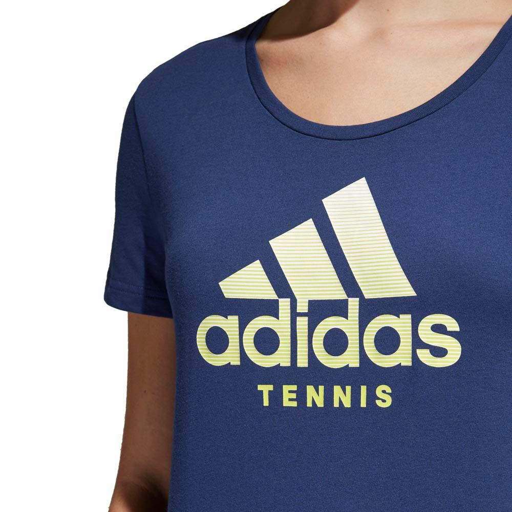 Adidas-Category-Noble-Indigo-T-Shirts-adidas-tennis-Vetements-femme