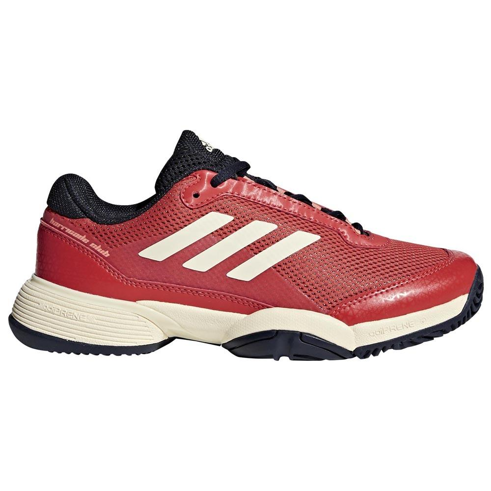 Adidas Barricade Club EU 33 1/2 Night Navy / Ecru Tint / Trace Scarlet