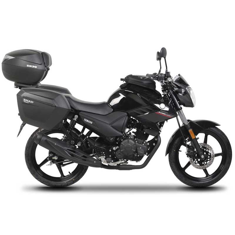 Shad Top Top Top Master Yamaha Ys 125 Yamaha YS 125 , Fijaciones Shad , moto , Equipaje 5b2fb2