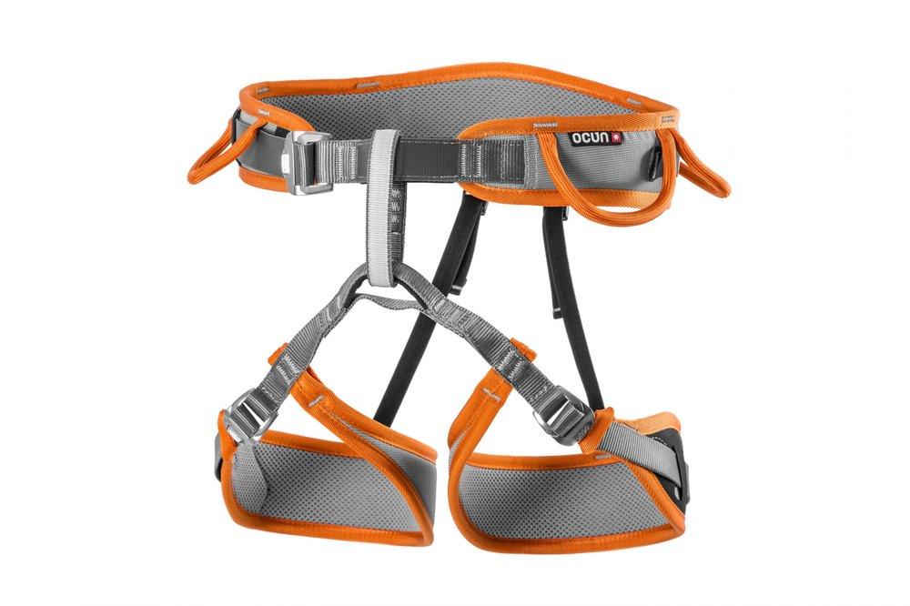 Ocun Twist Tech XS-M Grey / Orange