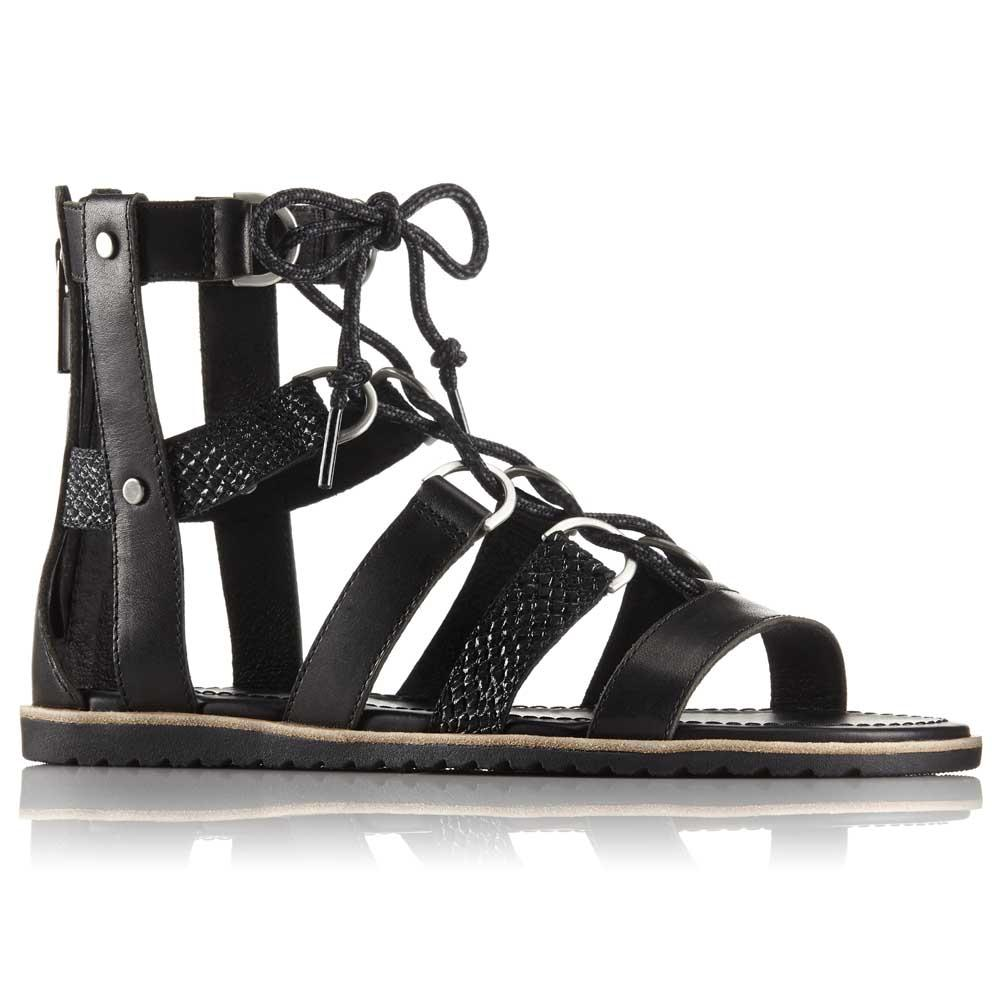 Sorel Ella Lace Up Sandals EU 37 Black