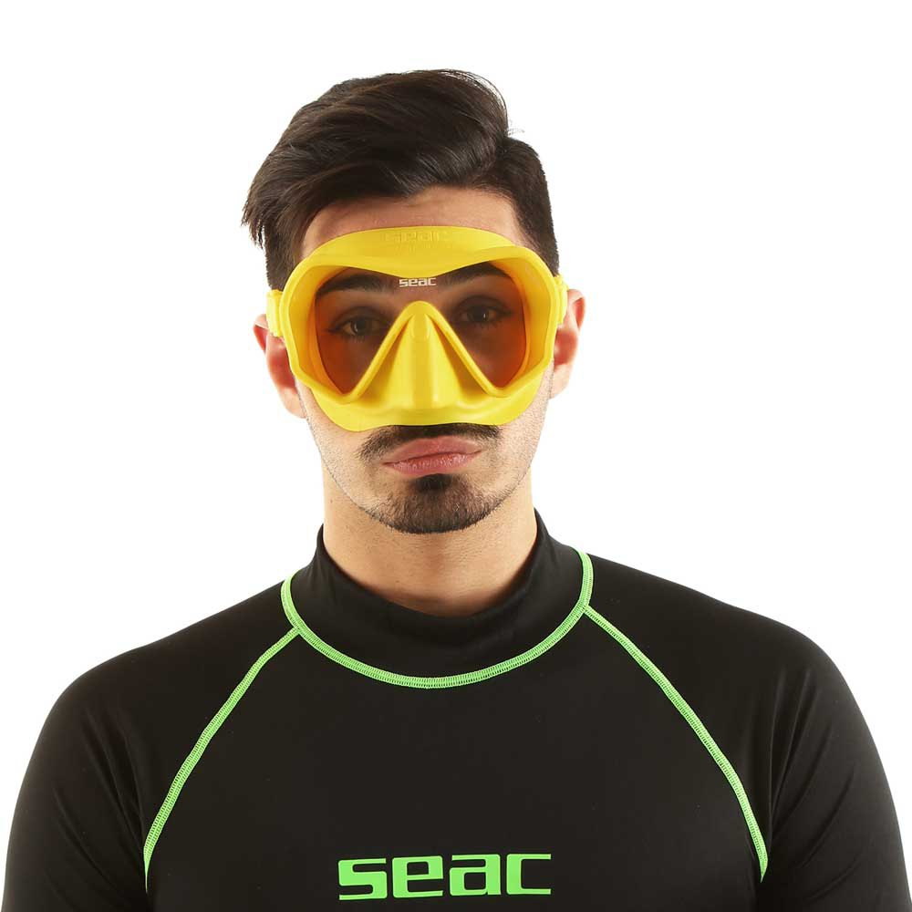 Seac-Touch-Jaune-T81843-Masques-Unisex-Jaune-Masques-SEAC-plongee miniature 7