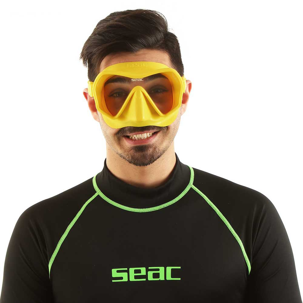 Seac-Touch-Jaune-T81843-Masques-Unisex-Jaune-Masques-SEAC-plongee miniature 8