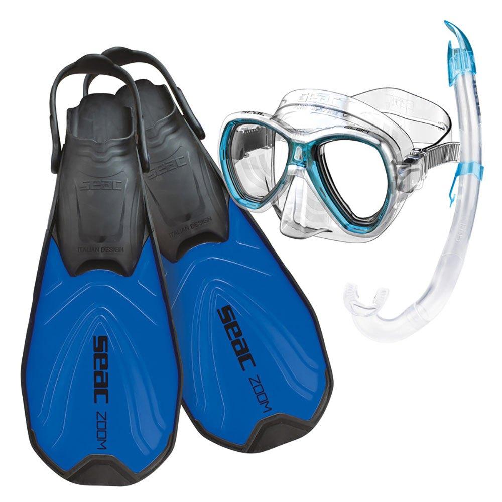 Seacsub Tris Zoom Bleu Bleu Zoom , PACKS Seacsub , plongée , Palmes, masques et tubas 5977ae