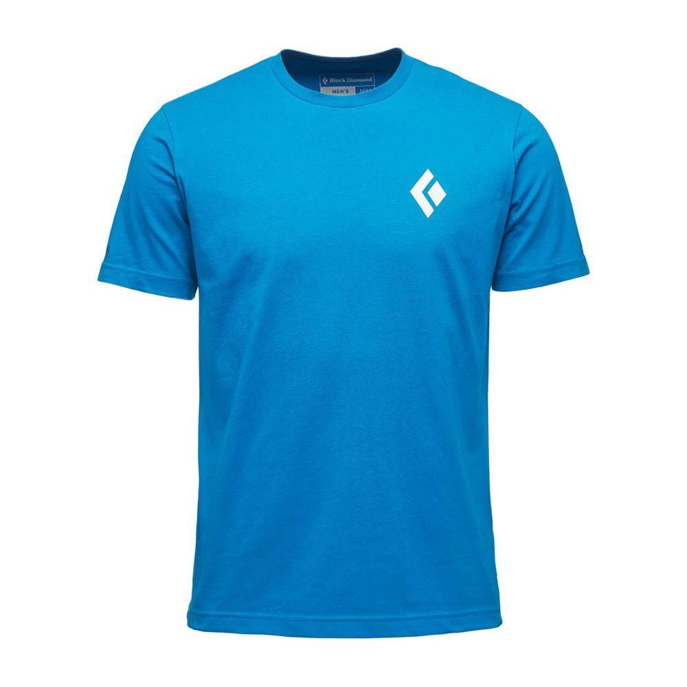 Black Diamond Equipment For Alpinist Short Sleeve T-shirt XL Kingfisher
