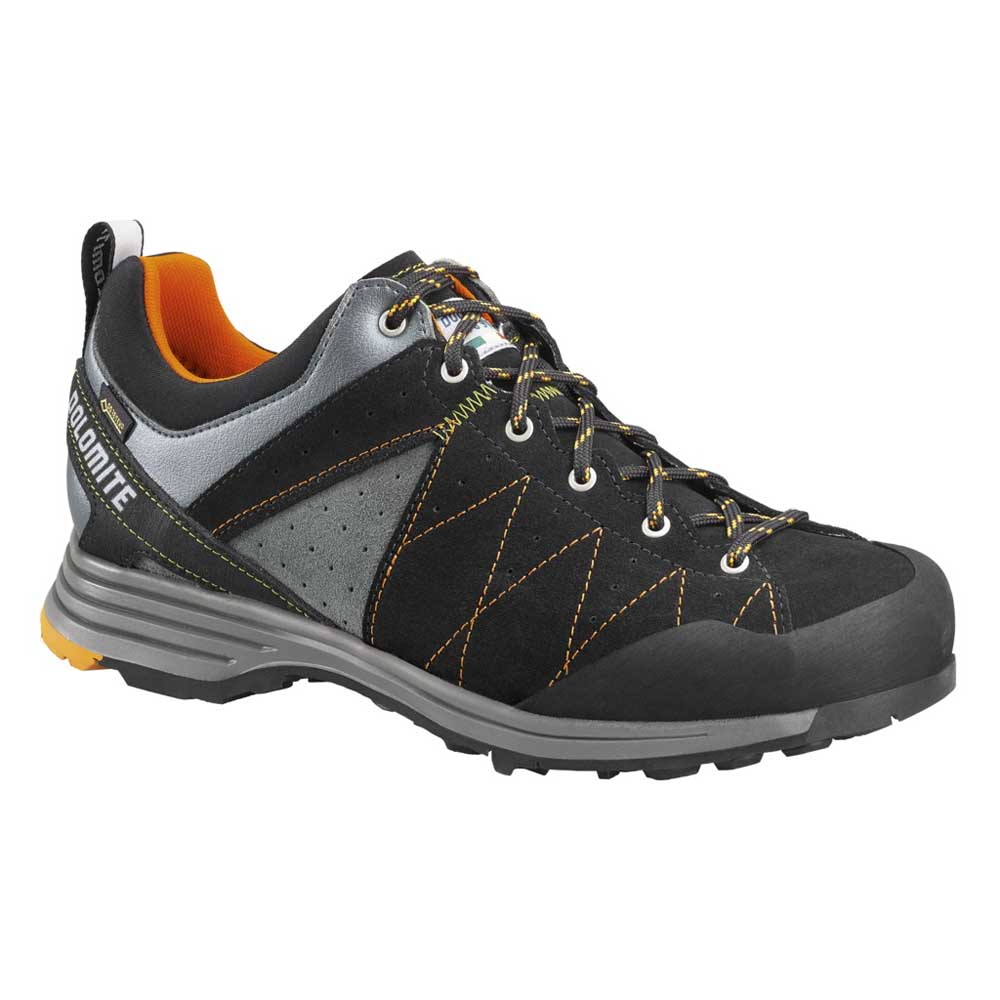 Dolomite Steinblock Low Goretex 2.0 EU 44 Black / Bright Orange
