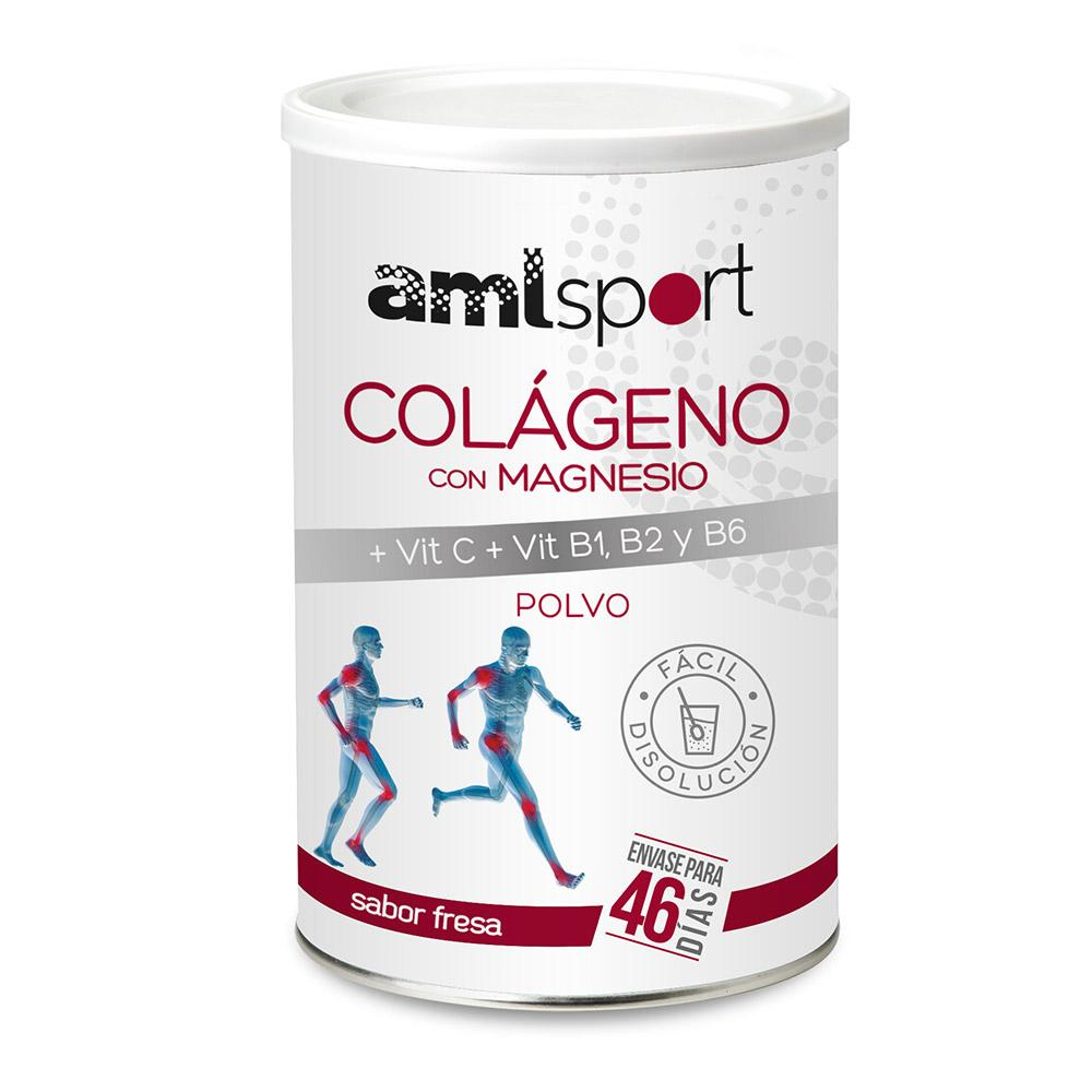 Amlsport Collagen With Magnesium And Vitamin C+b1+b2+b6 350gr Strawberry One Size
