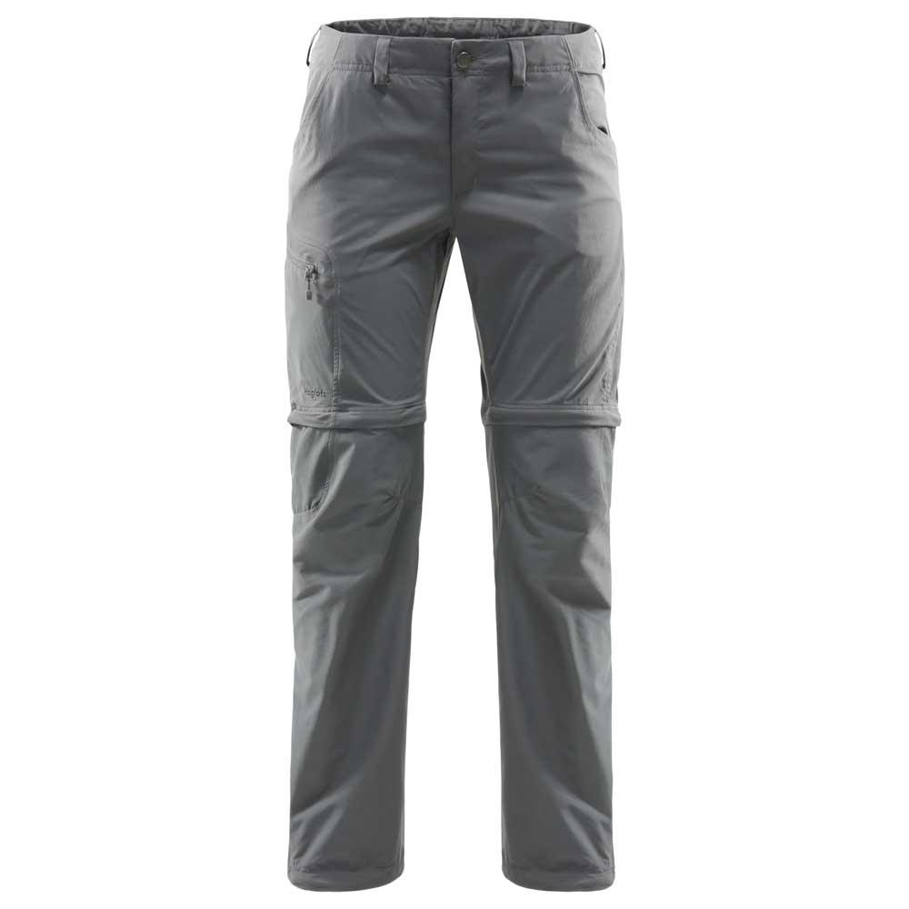 Haglofs Lite Zip Off Pants 34 Magnetite