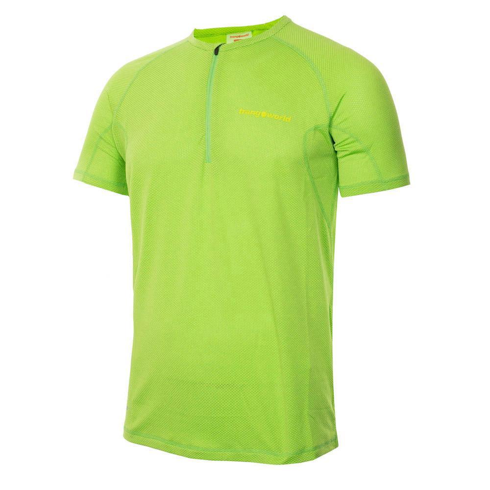 Trangoworld T-shirt Manche Courte Nueno XXL Green / Lime Green