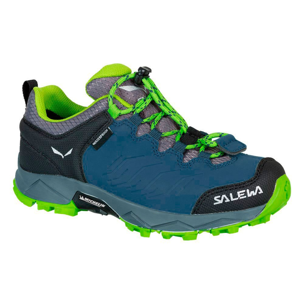 Salewa Mtn Trainer Waterproof EU 26 Dark Denim / Cactus