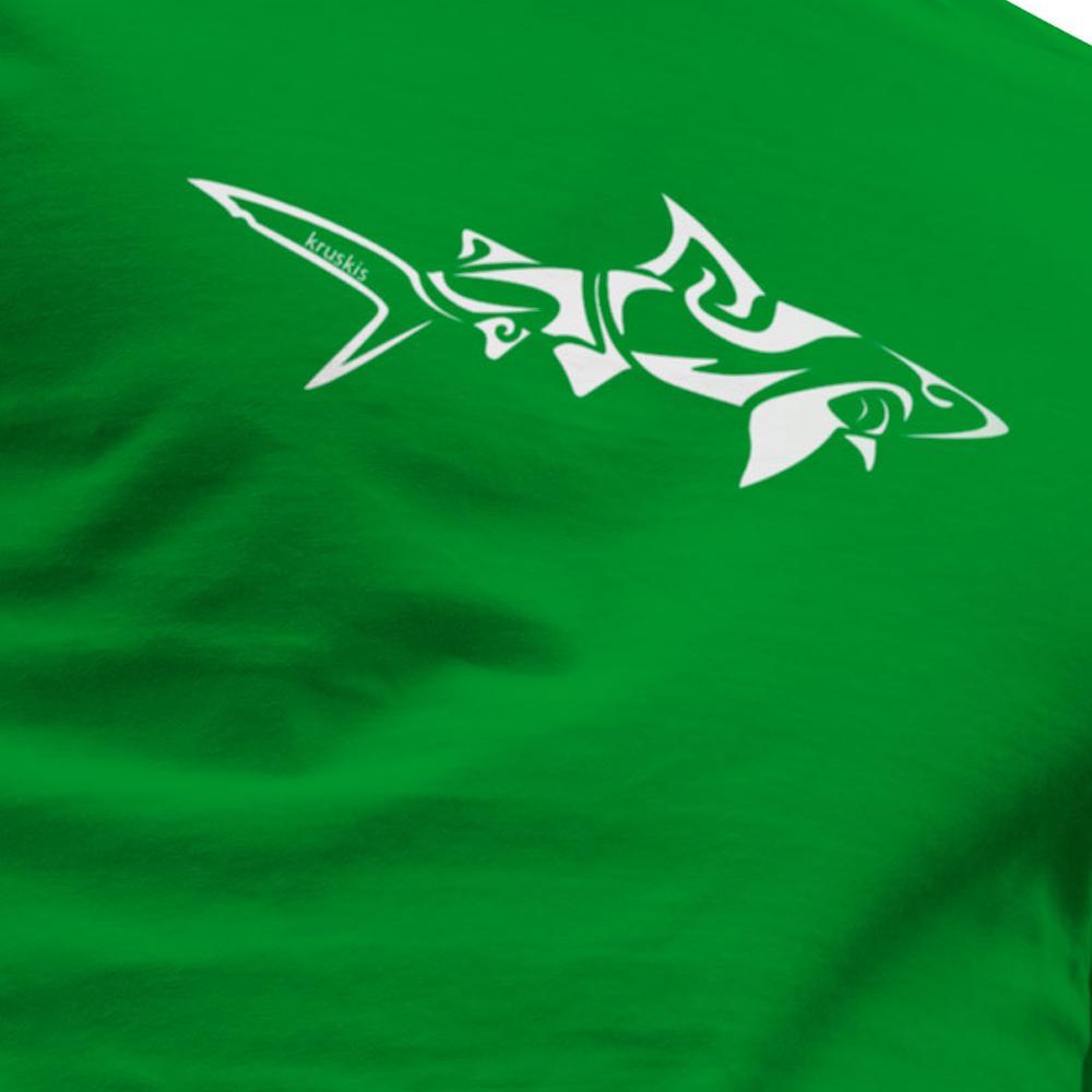 kruskis-shark-tribal-xxxl-green