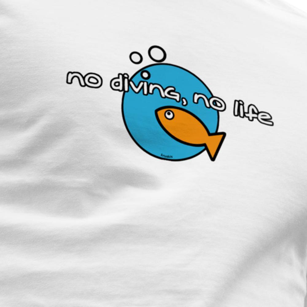 kruskis-no-diving-no-life-s-white