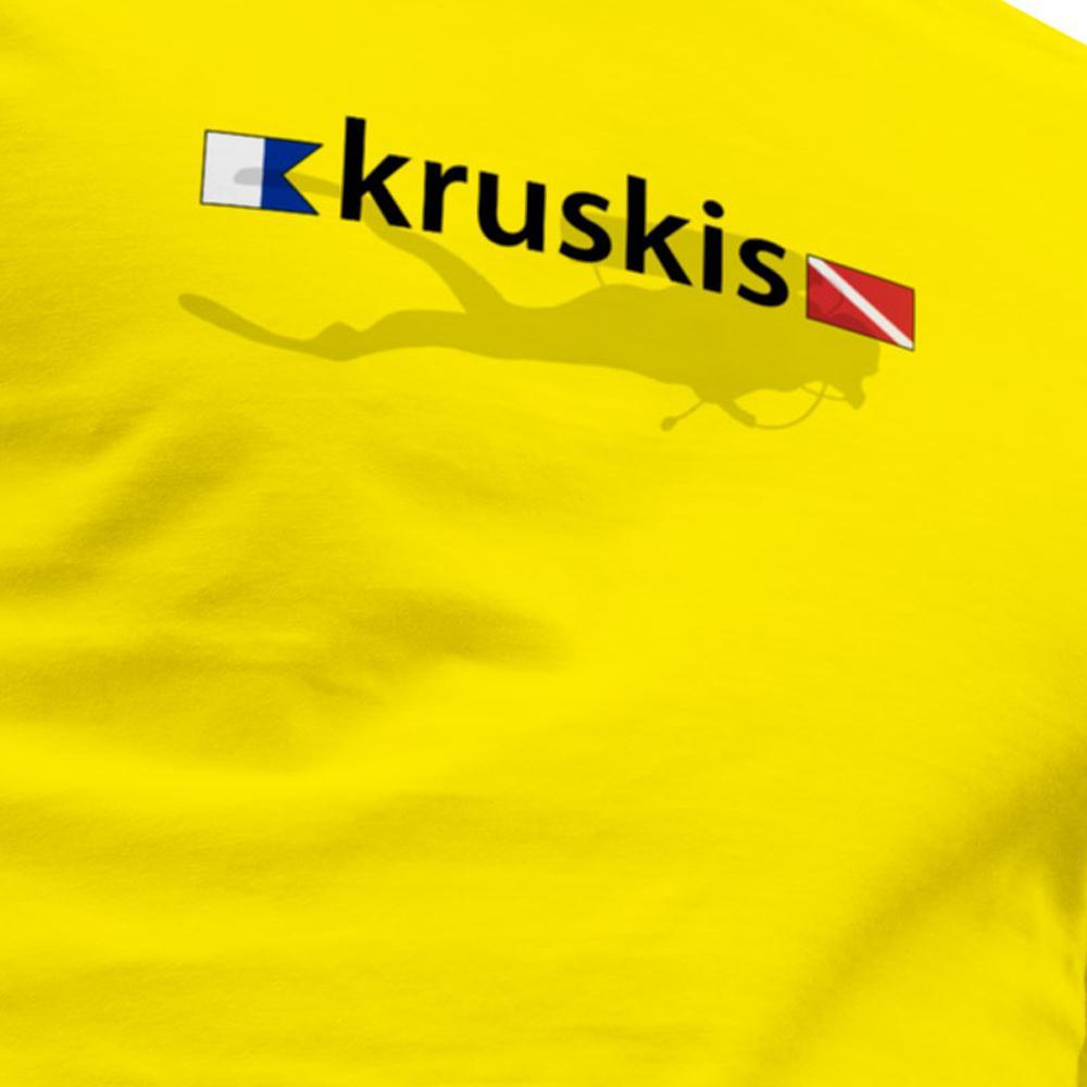kruskis-diver-flags-xxxl-yellow
