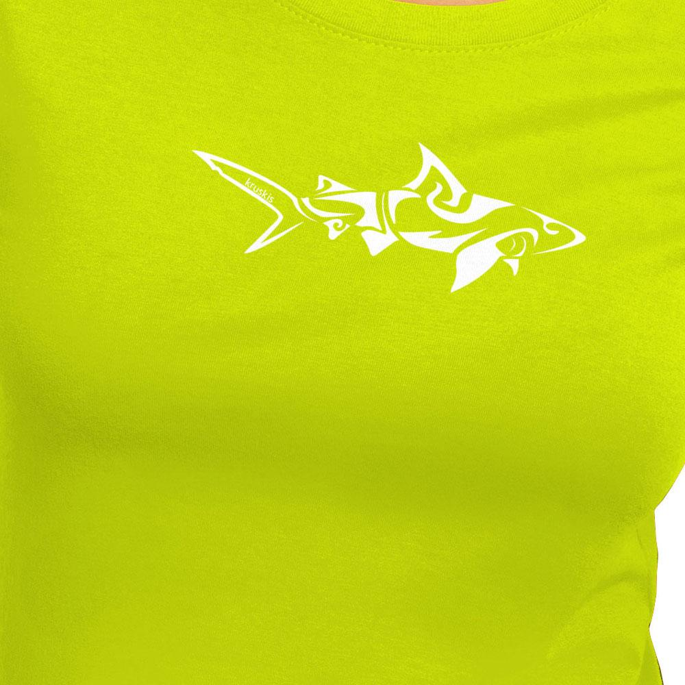 kruskis-shark-tribal-xxl-light-green