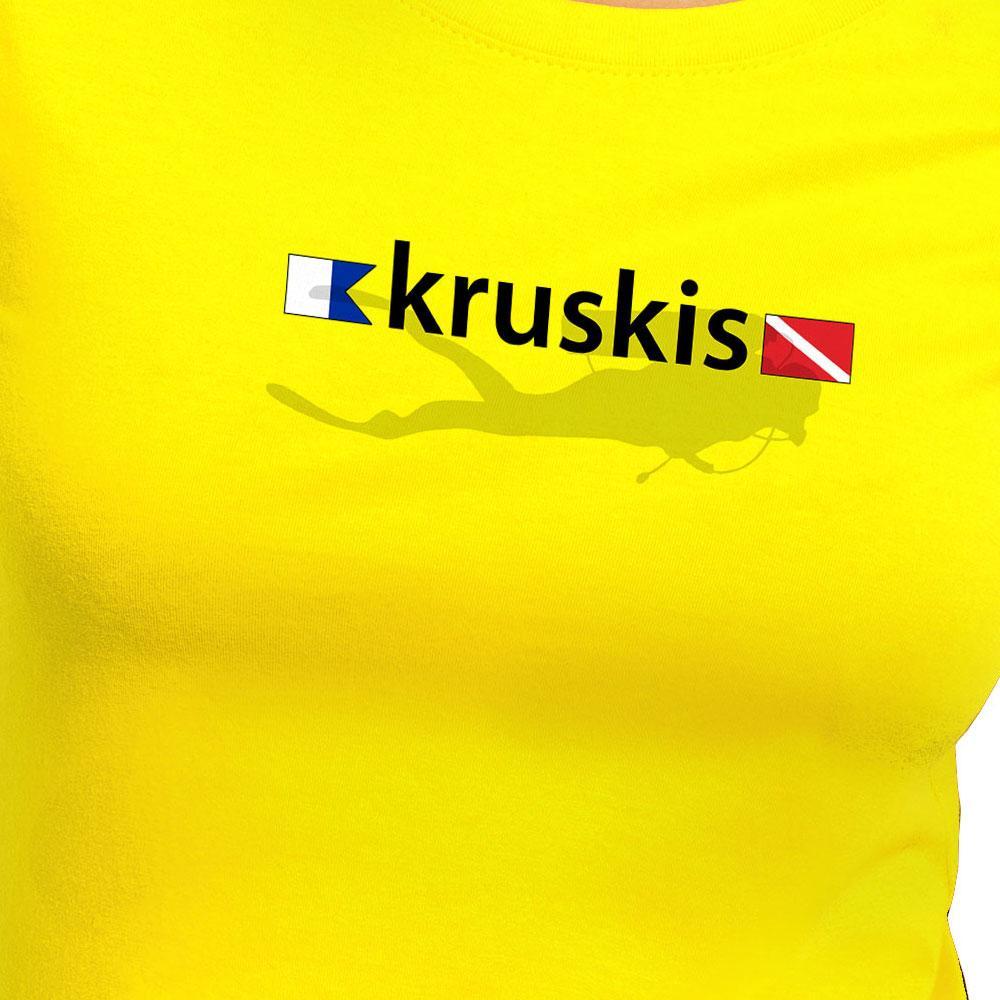 kruskis-diver-flags-xxl-yellow
