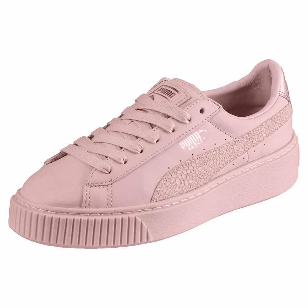 Zapatos casuales salvajes Puma Select Basket Platform Euphoria Rg
