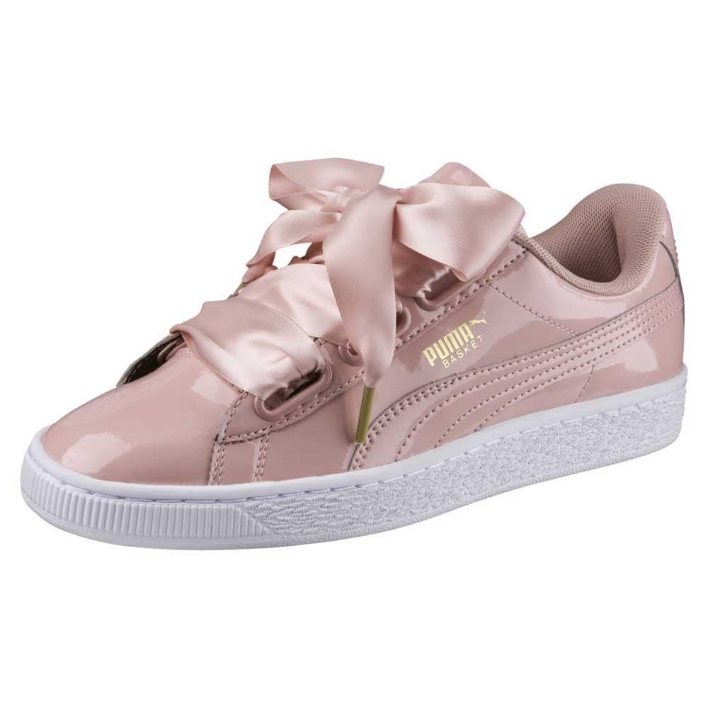 Dettagli su Puma Select Basket Heart Patent Rosa T26518 Sneakers Donna Rosa , Sneakers