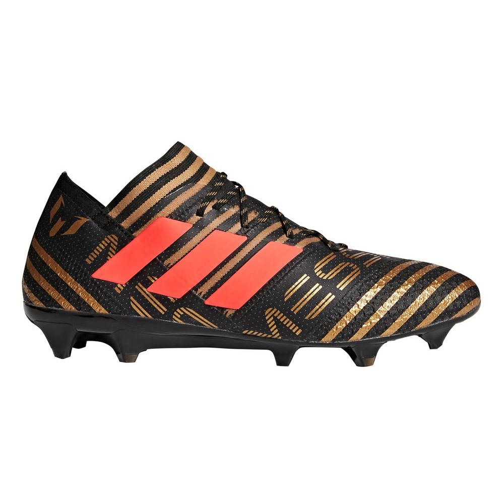 Adidas Nemeziz Messi 17.1 Fg EU 42 2/3 Core Black / Solar Red / Tactile Gold Metal