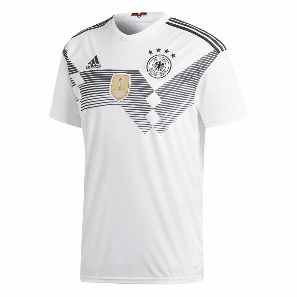 Adidas Allemagne Domicile 2018 S White / Black