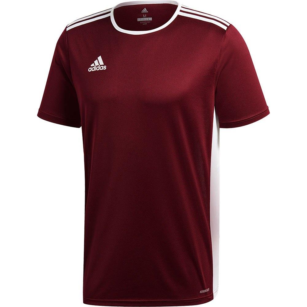 Adidas T-shirt Manche Courte Entrada 18 XXXL Maroon / White