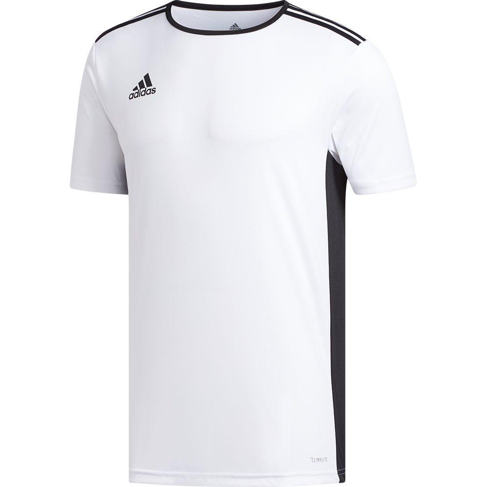 Adidas T-shirt Manche Courte Entrada 18 XXL White / Black