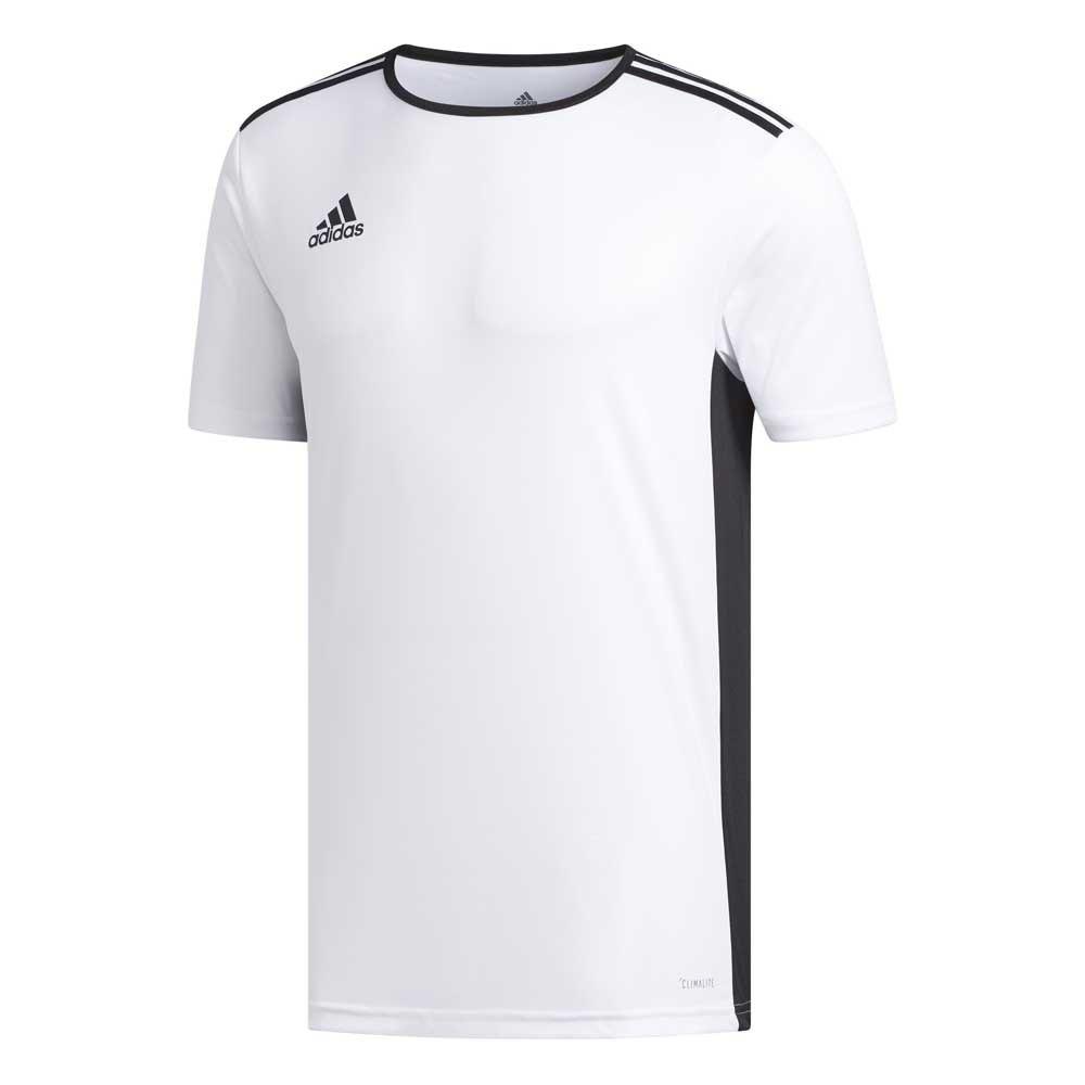 Adidas T-shirt Manche Courte Entrada 18 140 cm White / Black